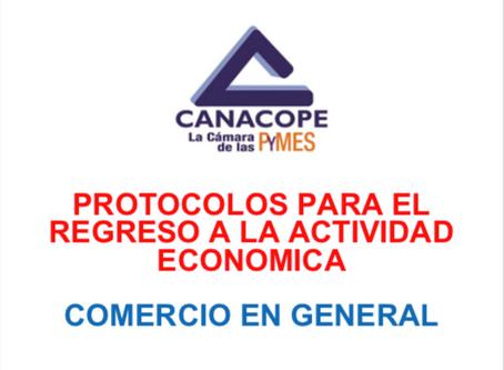 PROTOCOLO DE REGRESO PARA COMERCIOS EN GENERAL