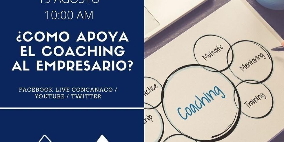 ¿Cómo apoya el coaching al empresario?