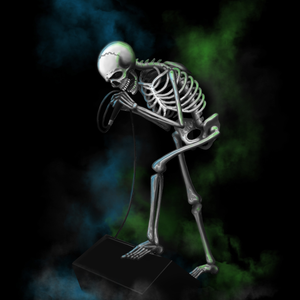Skeleton Tshirt Design