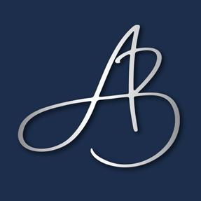 Metallic logo design for AngiePA.