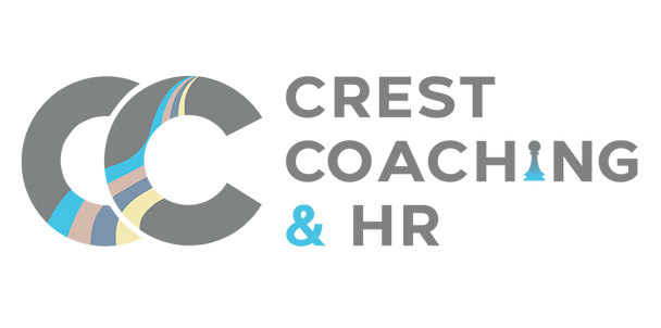 Modern logo design for Crest Coaching & HR.