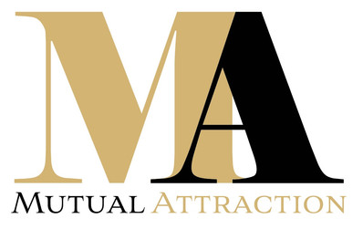 Logo design for London based luxury matchmaking agency, Mutual Attraction.