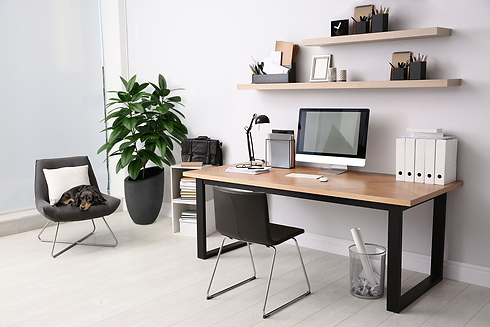 Home Office - Floorstanding Adobe Stock.