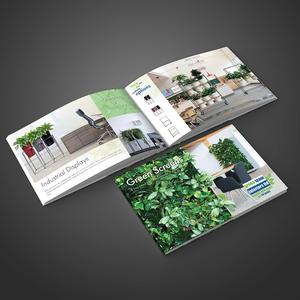 Green Screens brochure design.