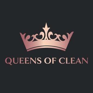 Luxury logo design for Queens of Clean.