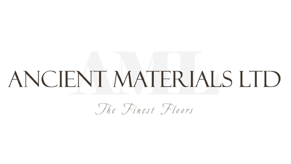 Logo for luxury wood flooring specialists, Ancient Materials Ltd.