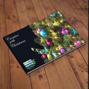 Christmas brochure design.