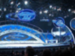 Bill Ferrell Co. constructed American Idol's bi-parting video wall