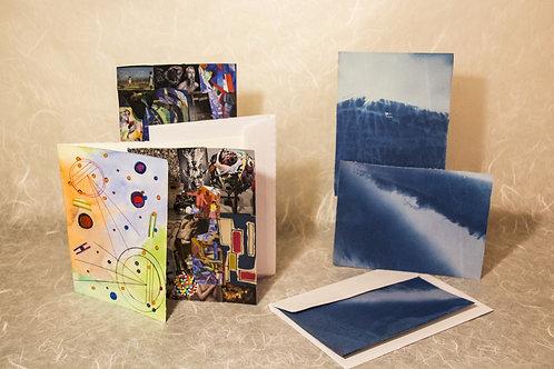 Cianotipi e Collage