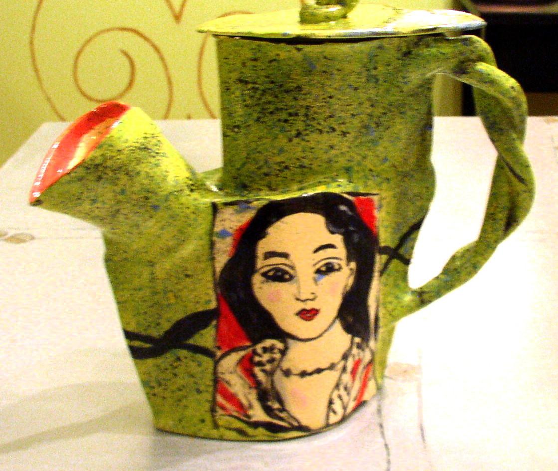 """teapot """"lovely lady"""""""