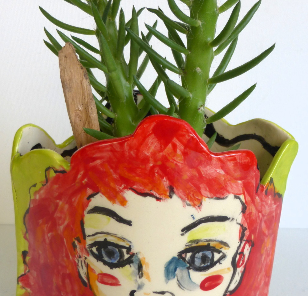 "planter ""redhead"" 4"" W"