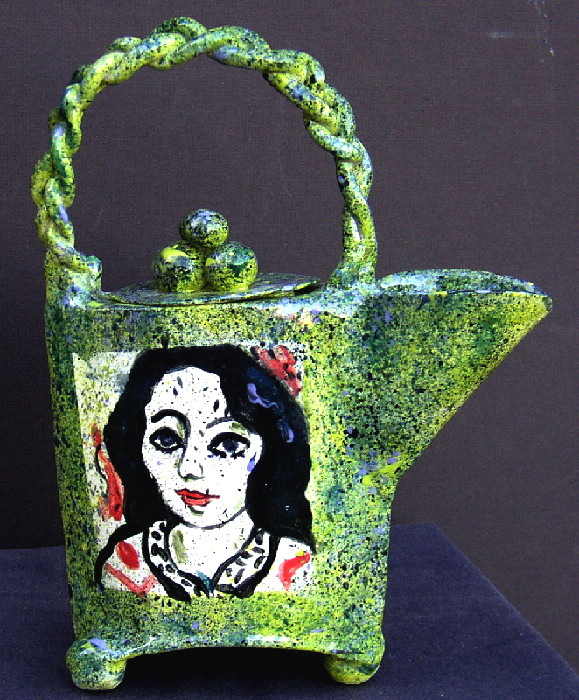 """teapot """"After Matisse"""""""