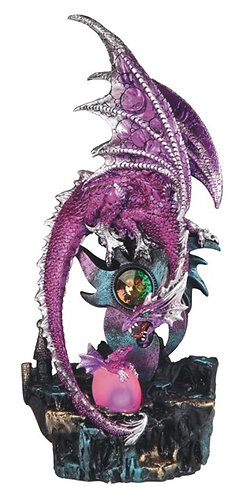 GSC-71744  Pink Dragon with LED jewel