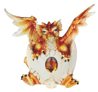 GSC-71473 Orange hatchling dragon