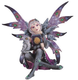 GSC-91409  Night Fairy reading with Owl