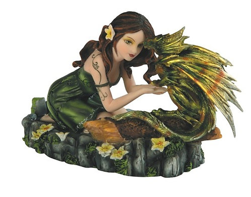GSC-91655  Fairy with baby dragon.
