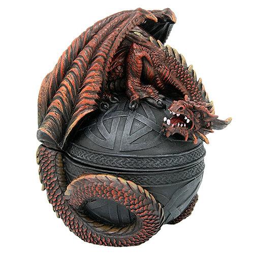 PT-10650 Dragon on Celtic Box