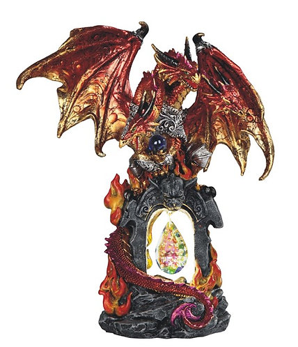 GSC-71844 Red Dragon with crystal and LED