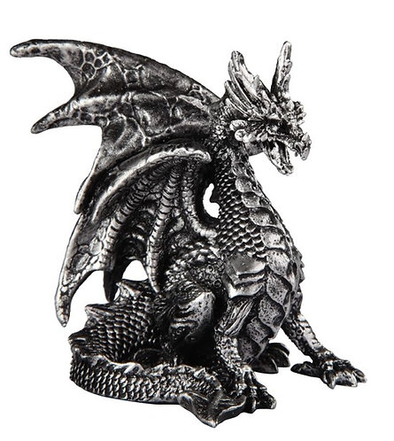 GSC-71682  Small silver dragon