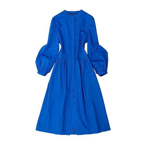 The Marina Dress - Marine Blue