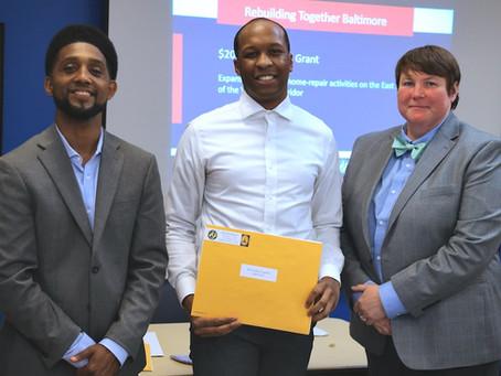 Rebuilding Together Baltimore - Community Catalyst Grant Recipient