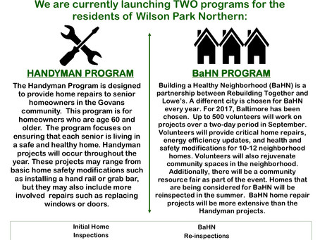 Building a Healthy Neighborhood and Handyman Information