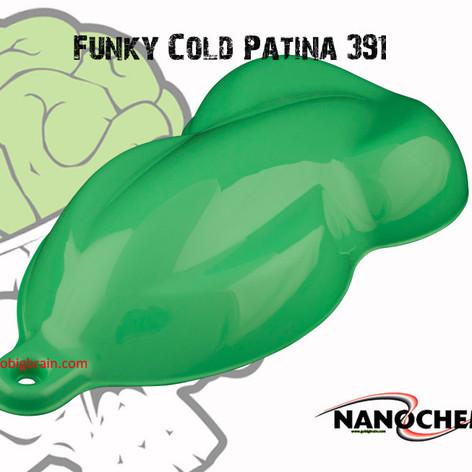 Funky Cold Patina 391 Teal Tiffany Aqua