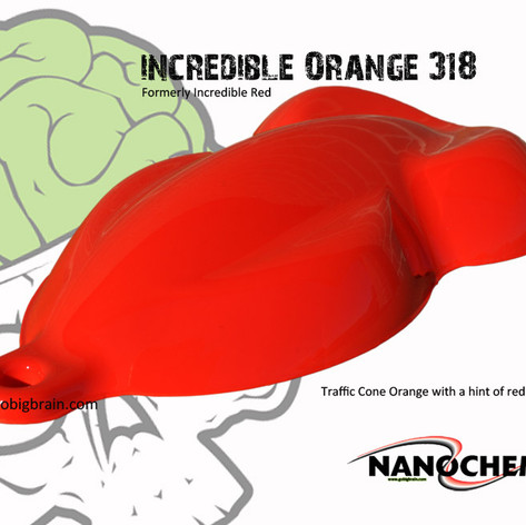 Incredible Orange 318 Formerly Incredibl