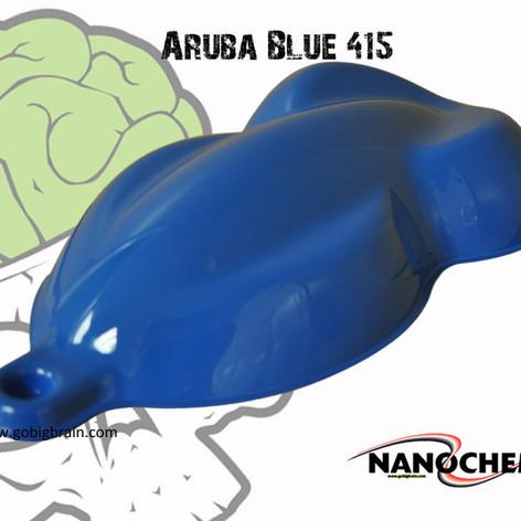 Aruba Blue Medium Blue 415 Big Brain Gra