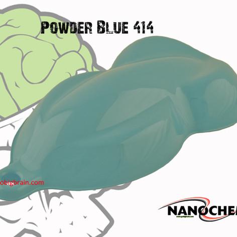 Powder Blue 414 Blue Big Brain Graphics
