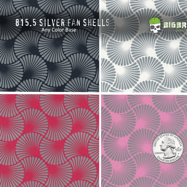 815-Silver-Seashell-Metallic-Fans-Abstra