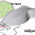 Yeti White Big Brain Graphics NanoChem P