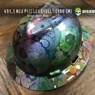 491-Neo-Paisley-Skulls-Rainbow-Skulls-Su