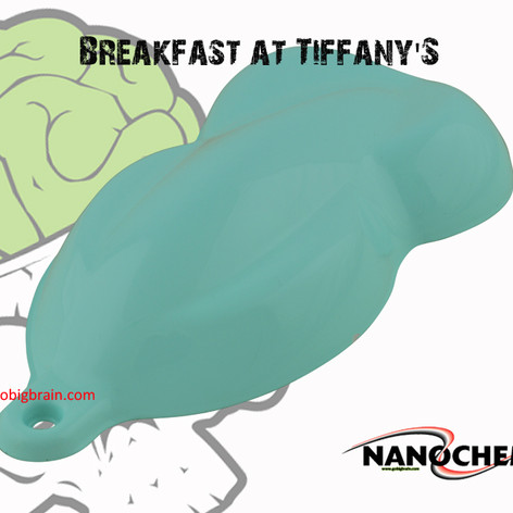 Breakfast at Tiffany Blue Green Scuba Pe