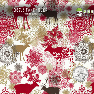 367-Fancy-Deer-Reindeer-Christmas-Deers-