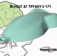 Almost at Tiffany Blue Big Brain Graphic
