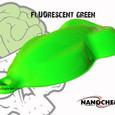 Fluorescent Green Big Brain Graphics Nan