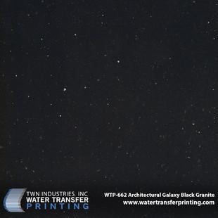 WTP-662 Architectural Galaxy Black Grani