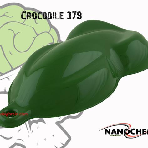Crocodile 379 Dark Big Brain Graphics Na