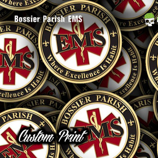 Bossier Parish EMS Hydrographic Film Cus