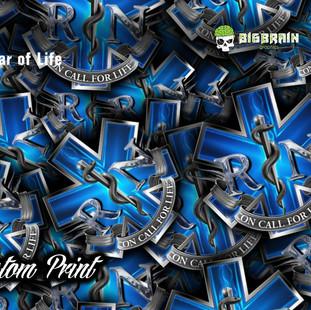 RN Star of Life Hydrographic Film Custom