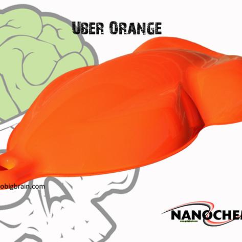 Uber Orange Bright Big Brain Graphics Na