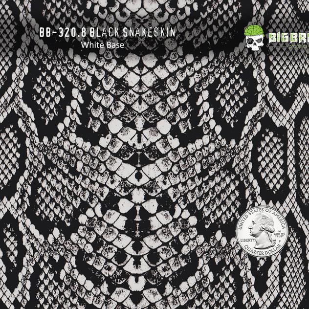 320(80 CM)-Snake-Black-Snakeskin-Reptile