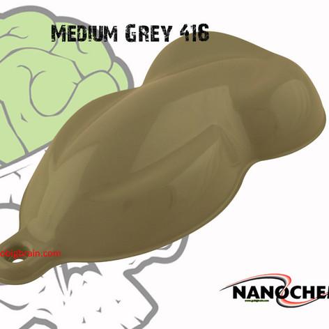 Medium Grey Gray 416 Color Base Hydrogra
