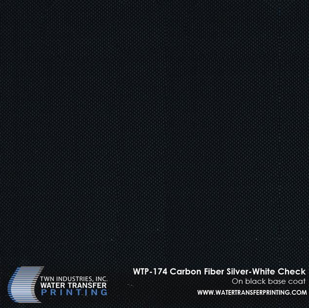 WTP-174 Carbon Fiber Silver-White Check