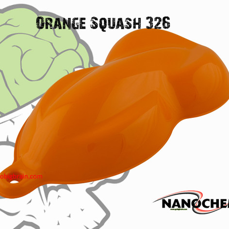 Orange Squash 326 Flat Hydrographics Bra