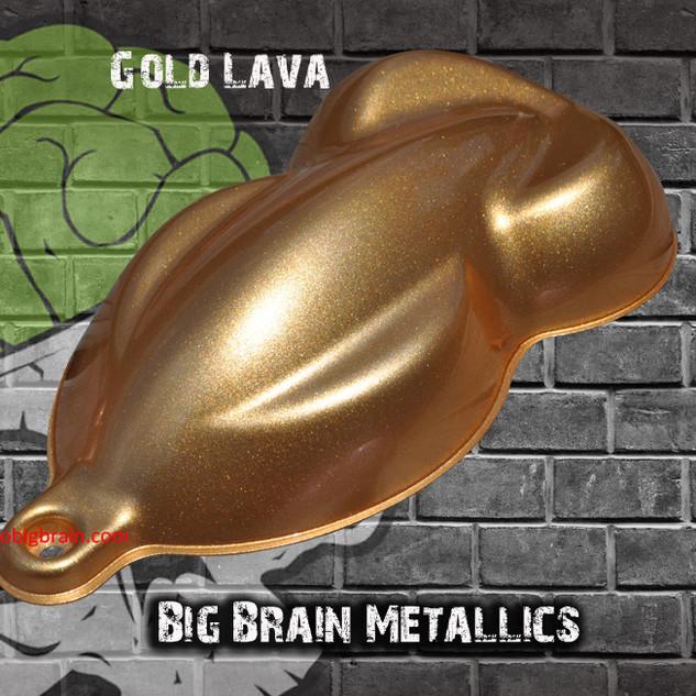 Gold Lava (Big Brain Gold) Metallic Colo