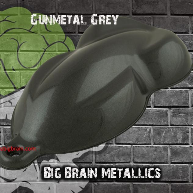 Gunmetal Grey Gray Metallic Color Base H