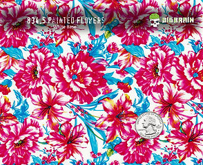834-Painted-Flowers-Wallpaper-Red-Blue-F