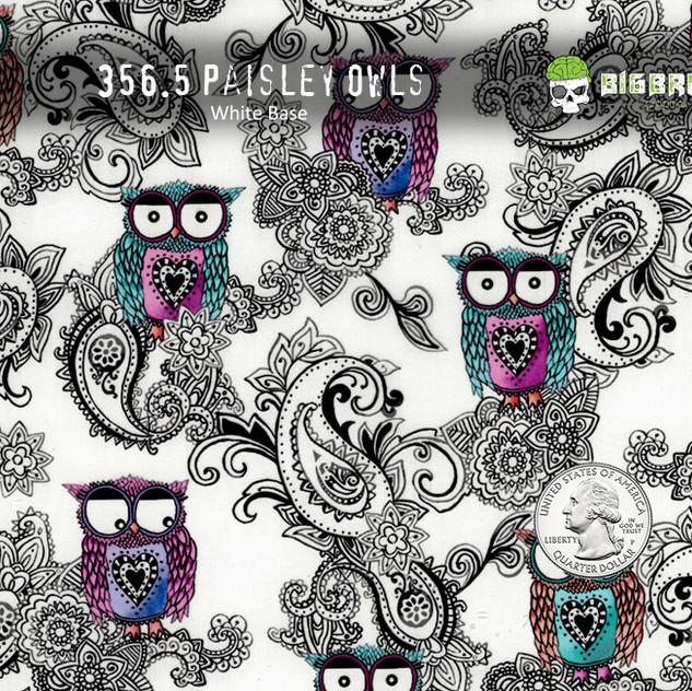 356-Paisley-Owls-Super-Cute-Girly-Print-